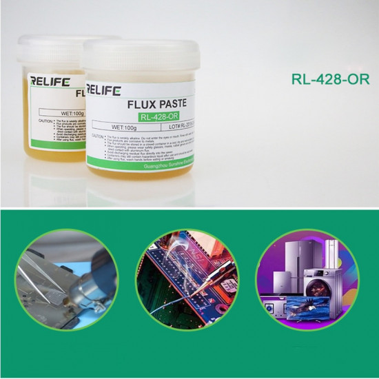 RELIFE RL-428-OR SOLDERING PASTE