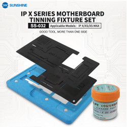 SS-032 REBALLING MAGNETIC FULL KIT FOR IPHONE X/XS/MAX