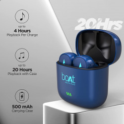 BOAT AIRDOPES 433 TWIN WIRELESS EARBUDS