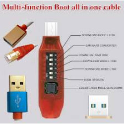 GSM MULTI FUNCTIONAL BOOT ALL IN ON CABLE