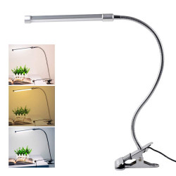 LED TABLE LAMP WITH CLAMP HOLDER