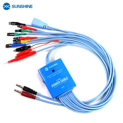 SUNSHINE SS-905A IPHONE/SAMSUNG POWER SUPPLY CABLE FOR IPHONE 5S-12PROMAX