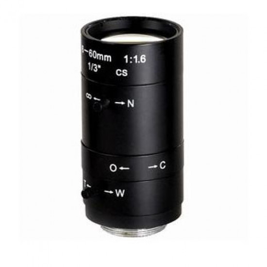 6-60MM CTV LENS ADAPTER FOR MICROSCOPE CAMERA
