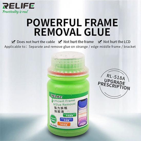 RELIFE RL-518A UNIVERSAL FRAME GLUE REMOVER LIQUID