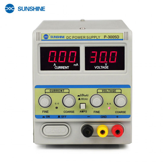 Sunshine 30V 5A DC Power Supply P-3005D Digital Programmable Adjustable