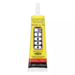 E-8000 GLUE 50ML CLEAR ADHESIVE