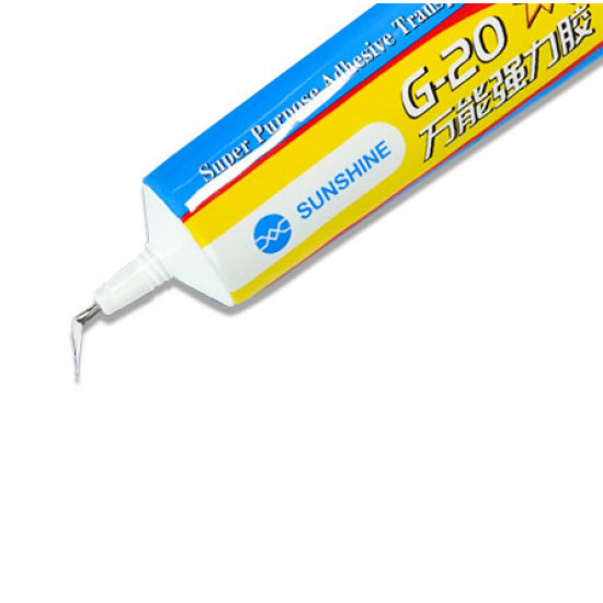 SUNSHINE G-20 GLUE CLEAR ADHESIVE 50 ML
