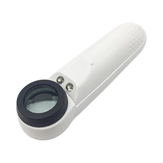 HIGH-PRECISION LED LIGHTED 40X LED HANDHELD OPTICALl MAGNIFIER