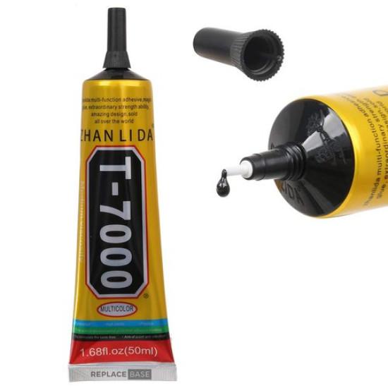 T-7000 GLUE 50ML BLACK ADHESIVE