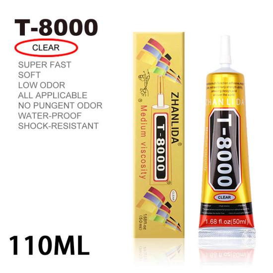 T-8000 GLUE 110ML CLEAR ADHESIVE
