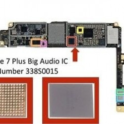 FOR IPHONE 7/7 PLUS SMALL AUDIO IC