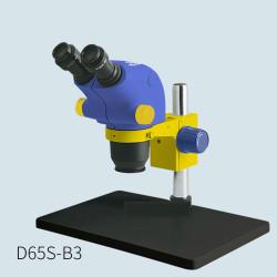 MECHANIC MC65T-B3 INDUSTRIAL TRIOCULAR STEREO MICROSCOPE FOR PCB REPAIR