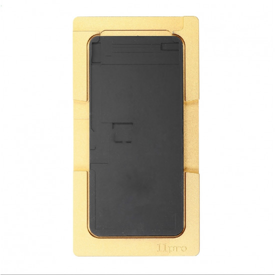 ALUMINIUM MOULD WITH SILICONE MAT MOLD LAMINATOR FOR iPhone 11 PRO