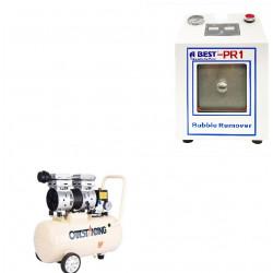 ABEST PR-1 BUBBLE REMOVER WITH AIR COMPRESSOR 30LTR