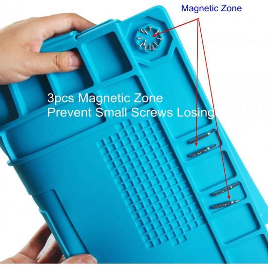 MAGNETIC MAINTENANCE MAT FOR REPAIRING