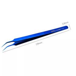 BT 14 BEND TWEEZER (BLUE)