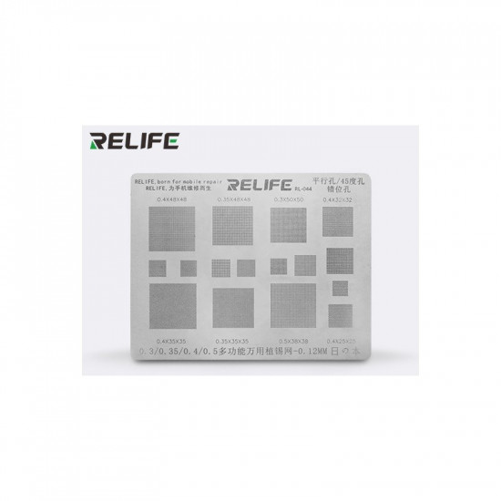 0.15MM RELIFE UNIVERSAL STENCILS PLATES
