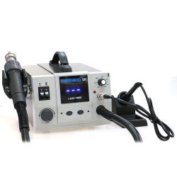 SUGON 9630 2IN1 REWORK STATION WITH HOT AIR GUN SOLDERING IRON