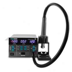 SUGON 8610DX 1000W HOT AIR REWORK STATION WITH LED DISPLAY 5 NOZZLES