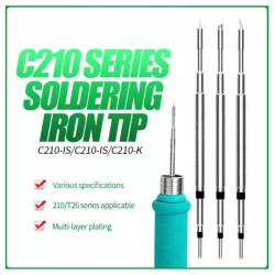 RELIFE RL C210 SOLDERING IRON TIPS ( 3 PCS SET )