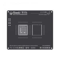 A10 CPU MODULE BGA REBALLING WHITE STENCILS