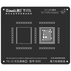 A11 CPU MODULE BGA REBALLING WHITE STENCILS