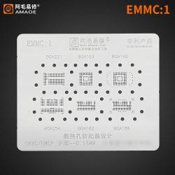 0.15MM AMAOE BGA REBALLING STENCIL FOR EMMC/EMCP/UFS IC CHIP