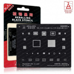 MEGA IDEA 6/6P CPU REBALLING BLACK STENCIL