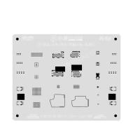 MIJING DOT MATRIX TIN PLATING STENCIL STEEL MESH FOR IPHONE X-11PRO MAX Face ID