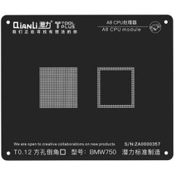 A8 CPU MODULE BGA REBALLING WHITE STENCILS
