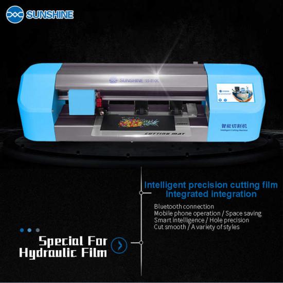 SUNSHINE SS-890C INTELLIGENT CUTTING MACHINE FOR CUT FLEXIBLE PROTECTIVE FILM
