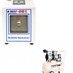 "ABEST 10"" BUBBLE REMOVER WITH AIR COMPRESSOR 30LTR"