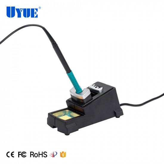 YOUYUE 3600 DUAL SOLDERING IRON, DIGITAL SOLDERING STATION WITH 2 CHANNEL HANDLE 95-400 DEGREE ADJUSTABLE TEMPERATURE